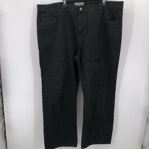 Royal Lineage Sz 48x33 Black Distressed Front